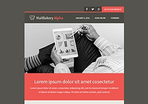 MailBakery Alpha Responsive Email Template