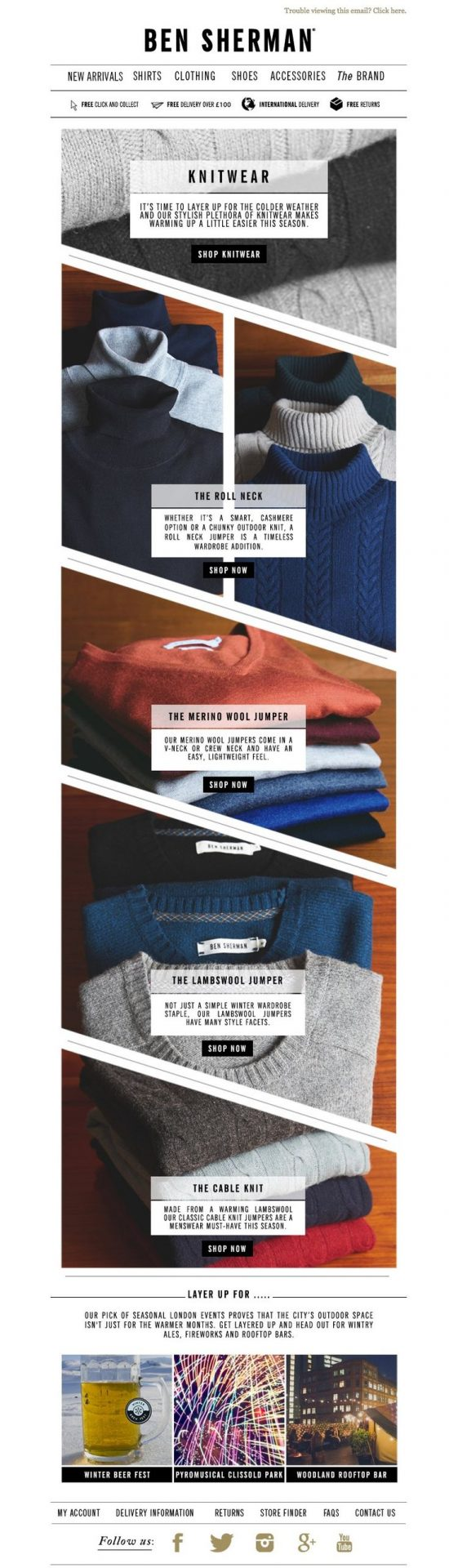 22 Excellent eCommerce Email Templates Examples to Inspire ...