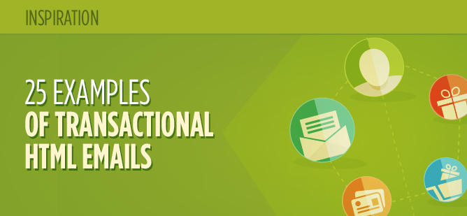 25 examples of transactional emails