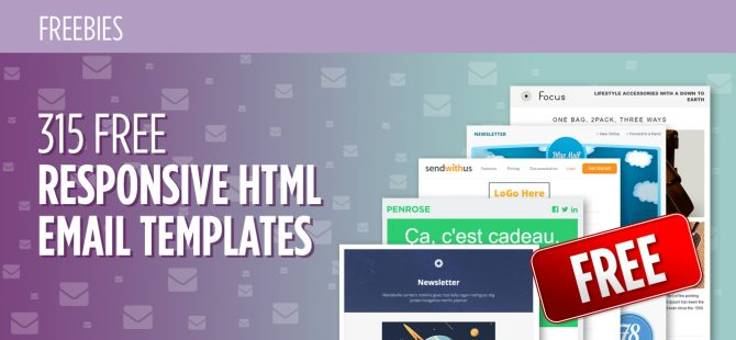 315-Free-Responsive-HTML-Email-Templates