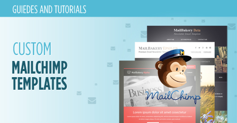 Custom MailChimp Templates What They Are And How They Work - Mailchimp template ideas