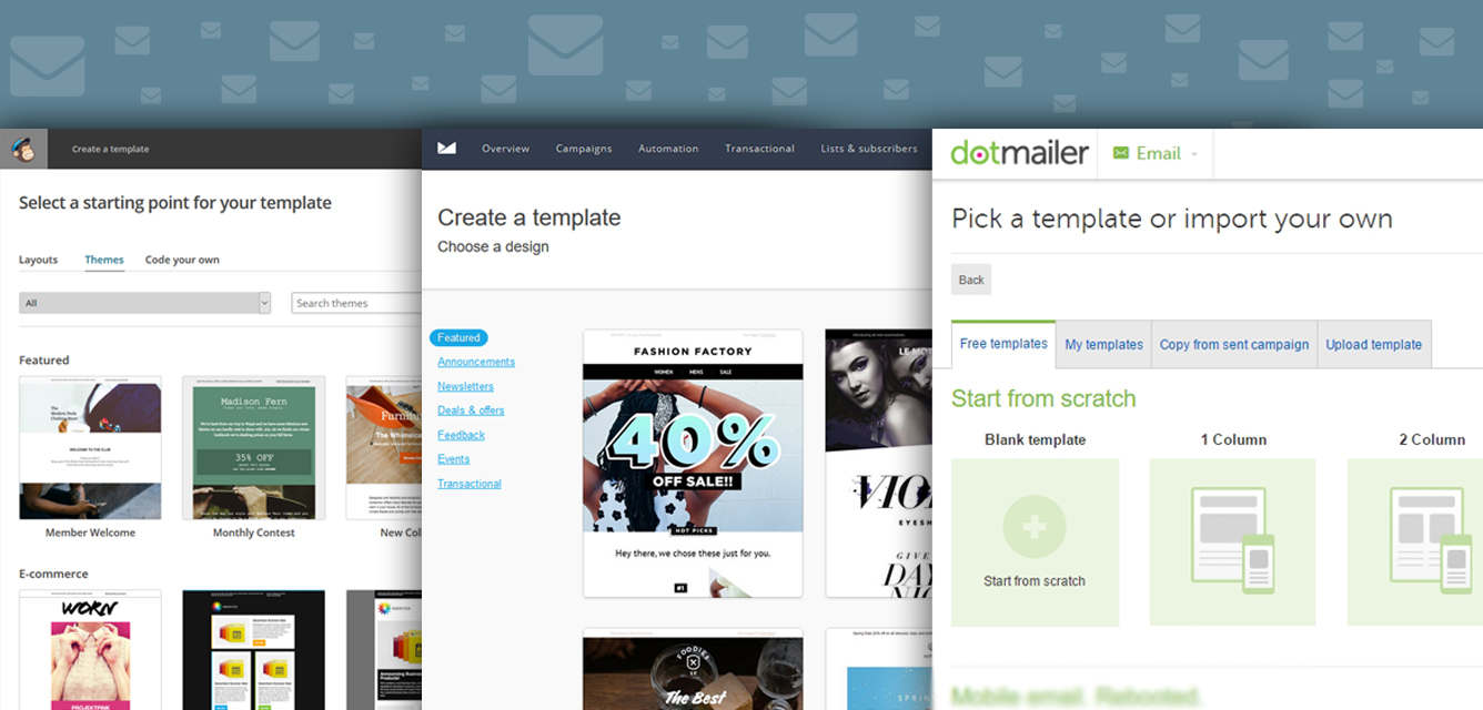 Email Software Html Email Templates Mailbakery