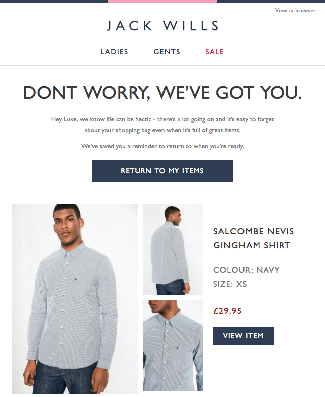 10 Abandoned Cart Email Examples 20 Tips To Win Your Clients Back