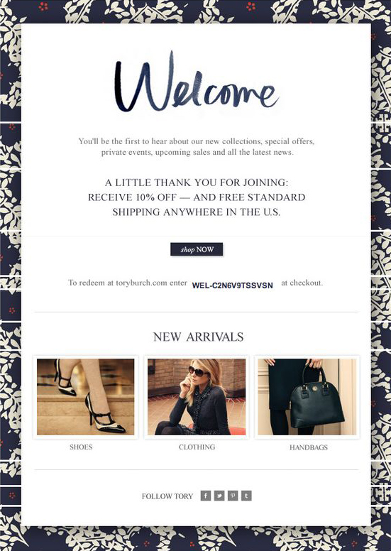 tory-welcome-email-design