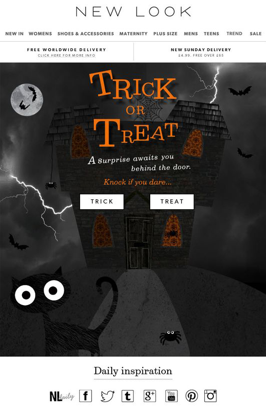 New-Look-halloween-email
