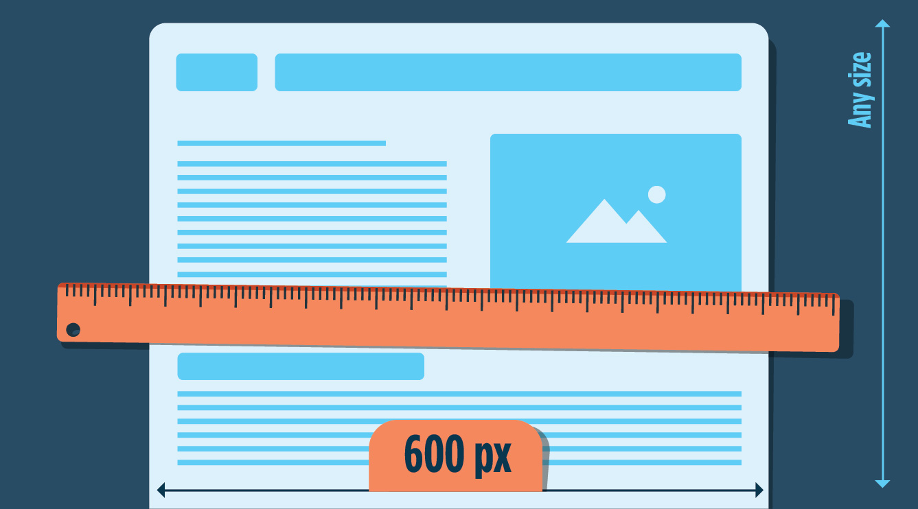 Email Width And Height What To Include Above The Fold MailBakery - Mailchimp template width