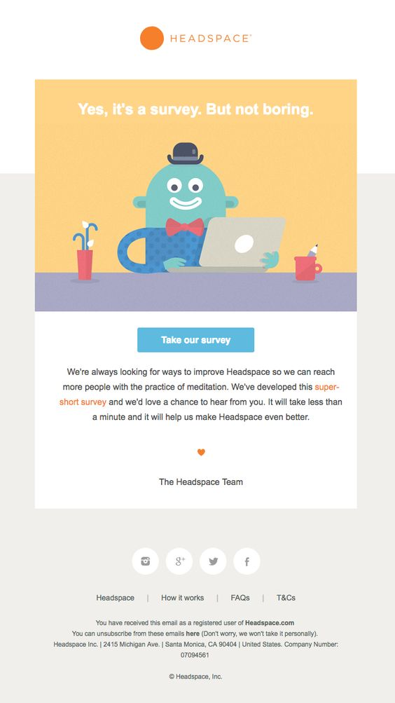 18 Wonderful Survey Invitation Email Examples & Why They Work