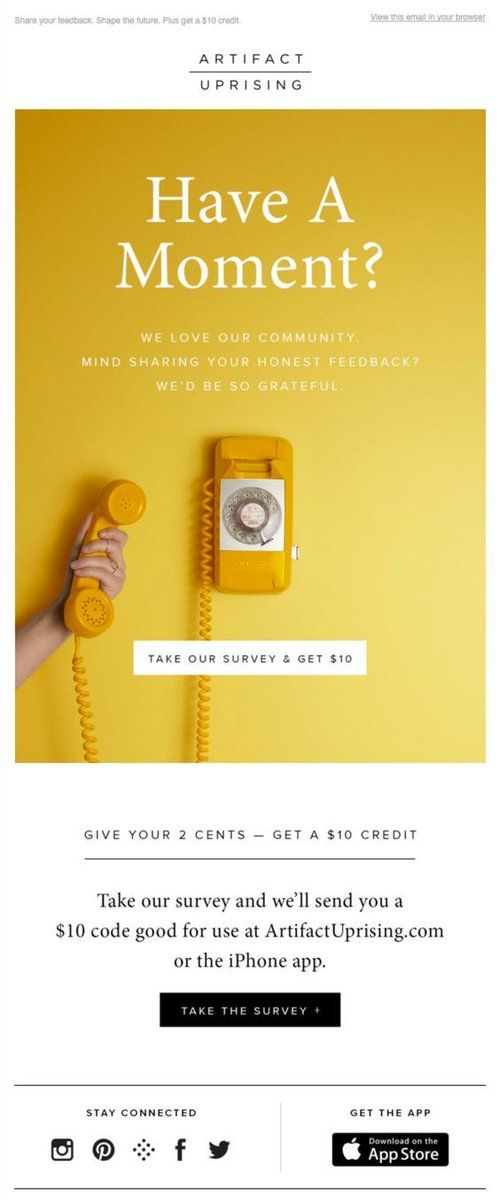 18 Wonderful Survey Invitation Email Examples Amp Why They Work