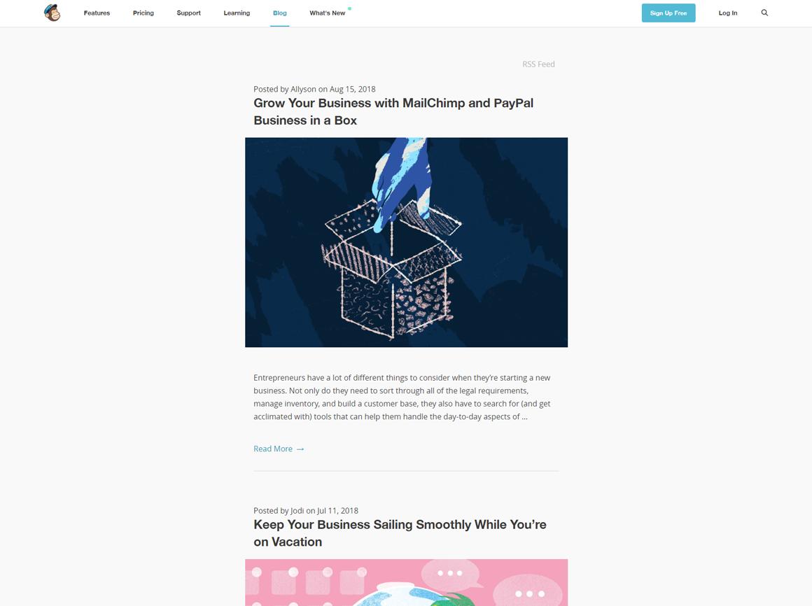 MailChimp Blog