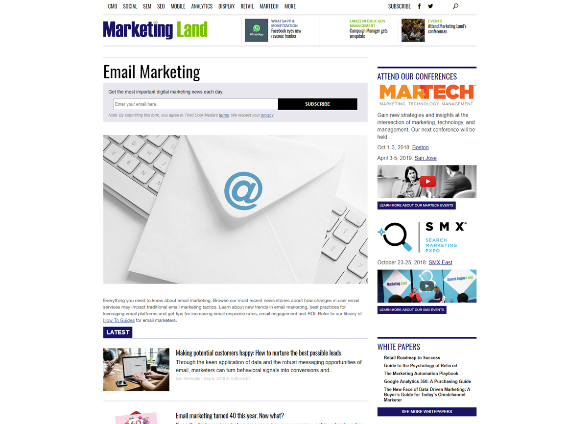 MarketingLand Blog