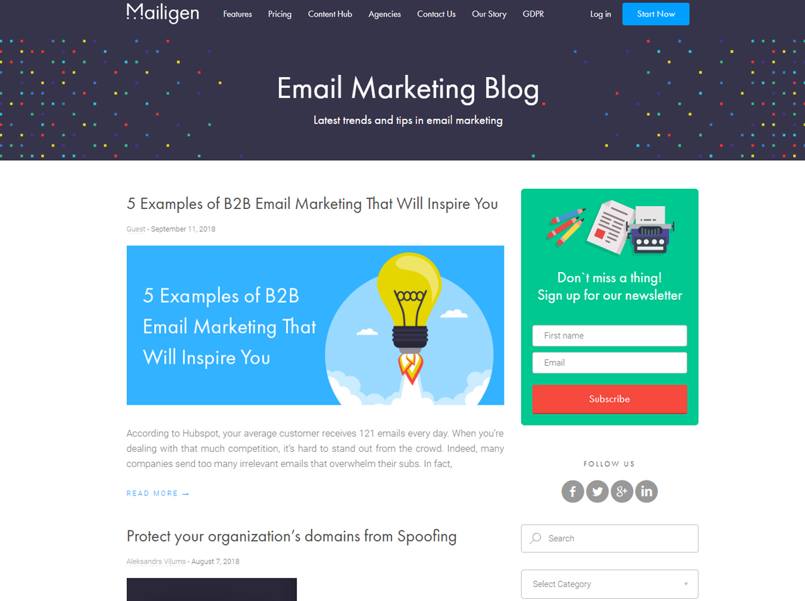 Top 30 Email Marketing Blogs You Should Definitely Follow - MailBakery