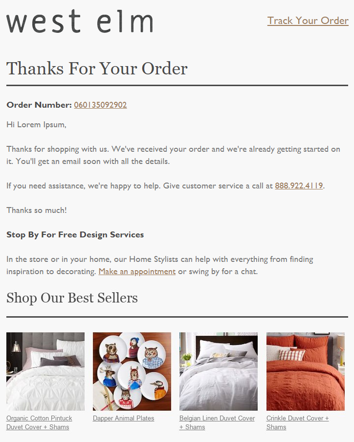 8 Tips to Write Better Order Confirmation Emails - MailBakery