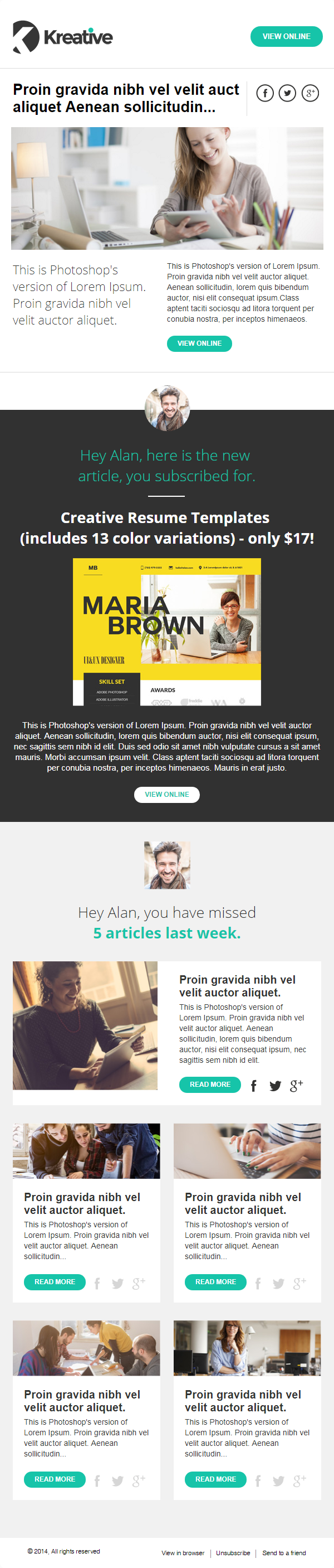 80 Free Mailchimp Templates To Kick Start Your Email Marketing
