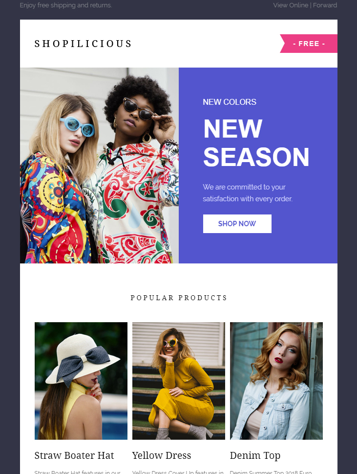 shopilicious-html-free-email-template-ecommerce