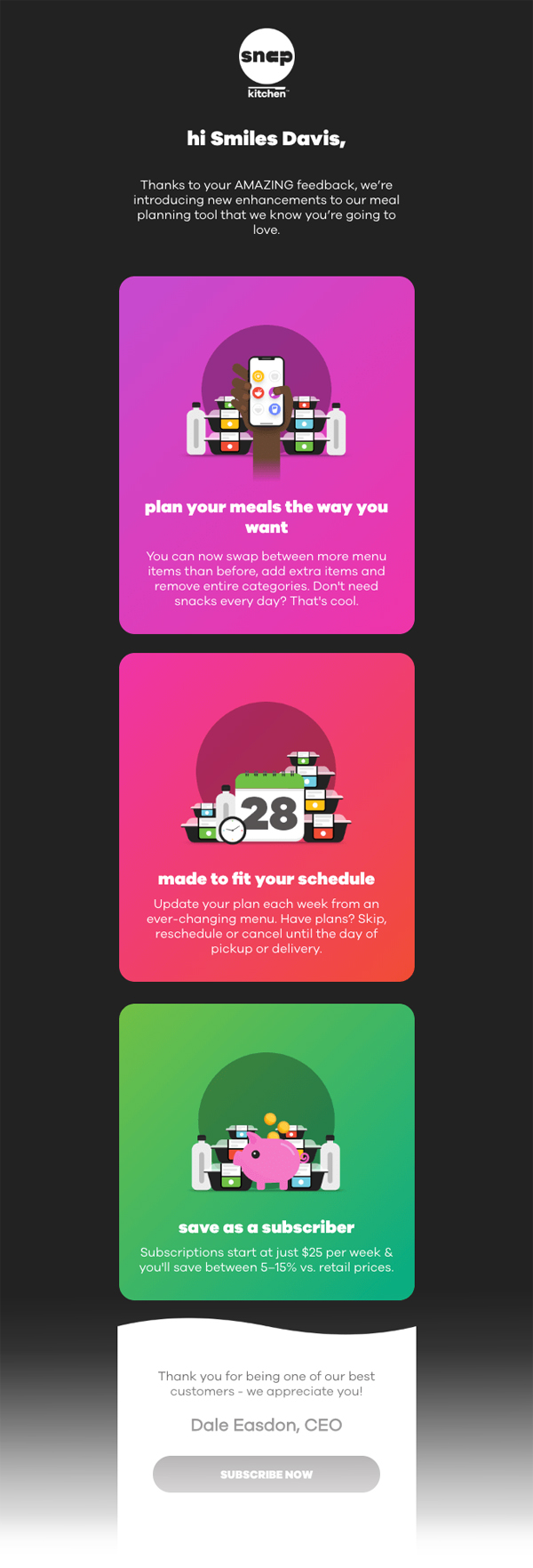 email design trends 2019 gradients