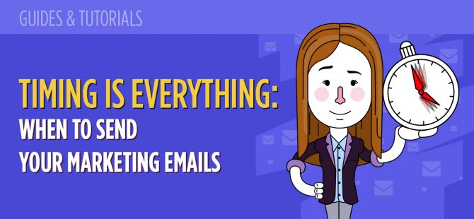 Timing is everything When to send your marketing emails