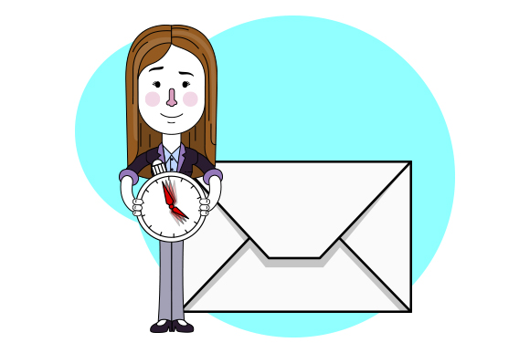 Email by the hour