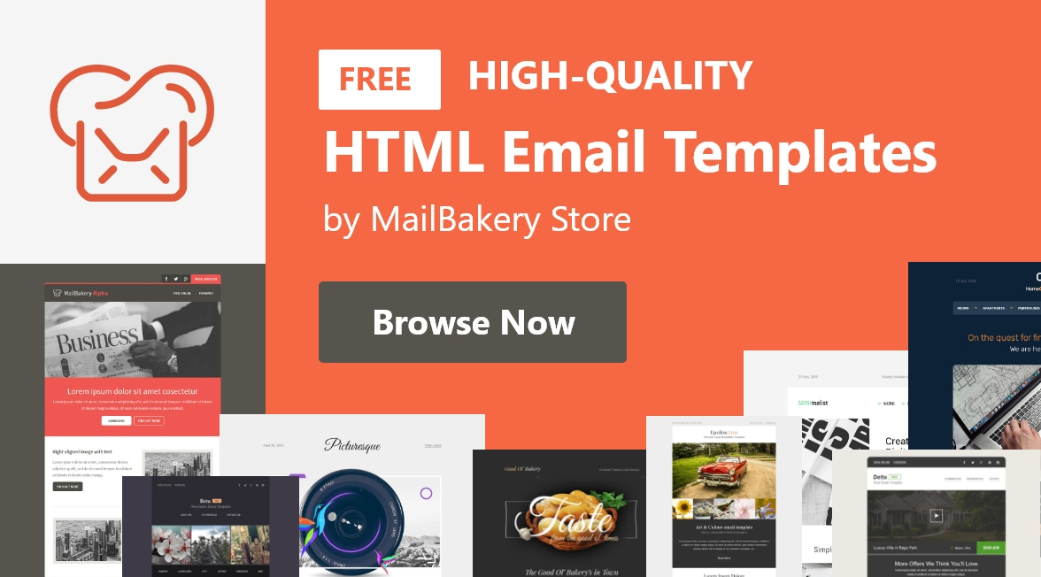FREE HIGH-QUALITY HTML Email Template by MailBakery Store