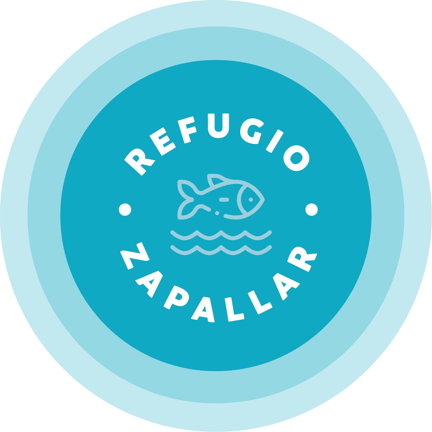 Logo refugio zapallar