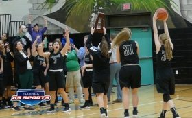 Father Lopez survives a late onslaught by New Smyrna Beach to become District Champions