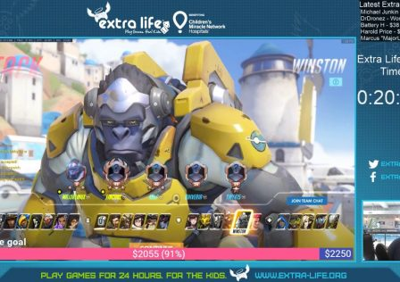 Extra-Life-Stream-Team-Overwatch-Fun