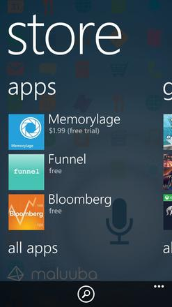Funnel is featured on the Windows Phone store!