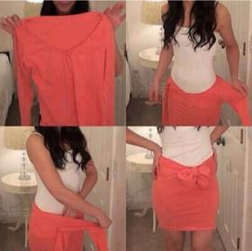 Easy DIY skirt 😘
