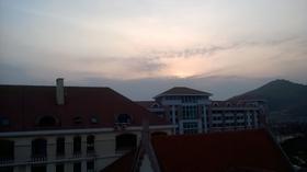崂山的日落