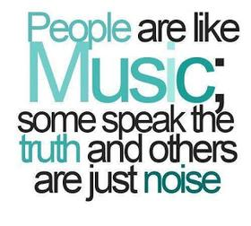 People are like 🎼.