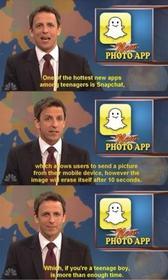 Snapchat...