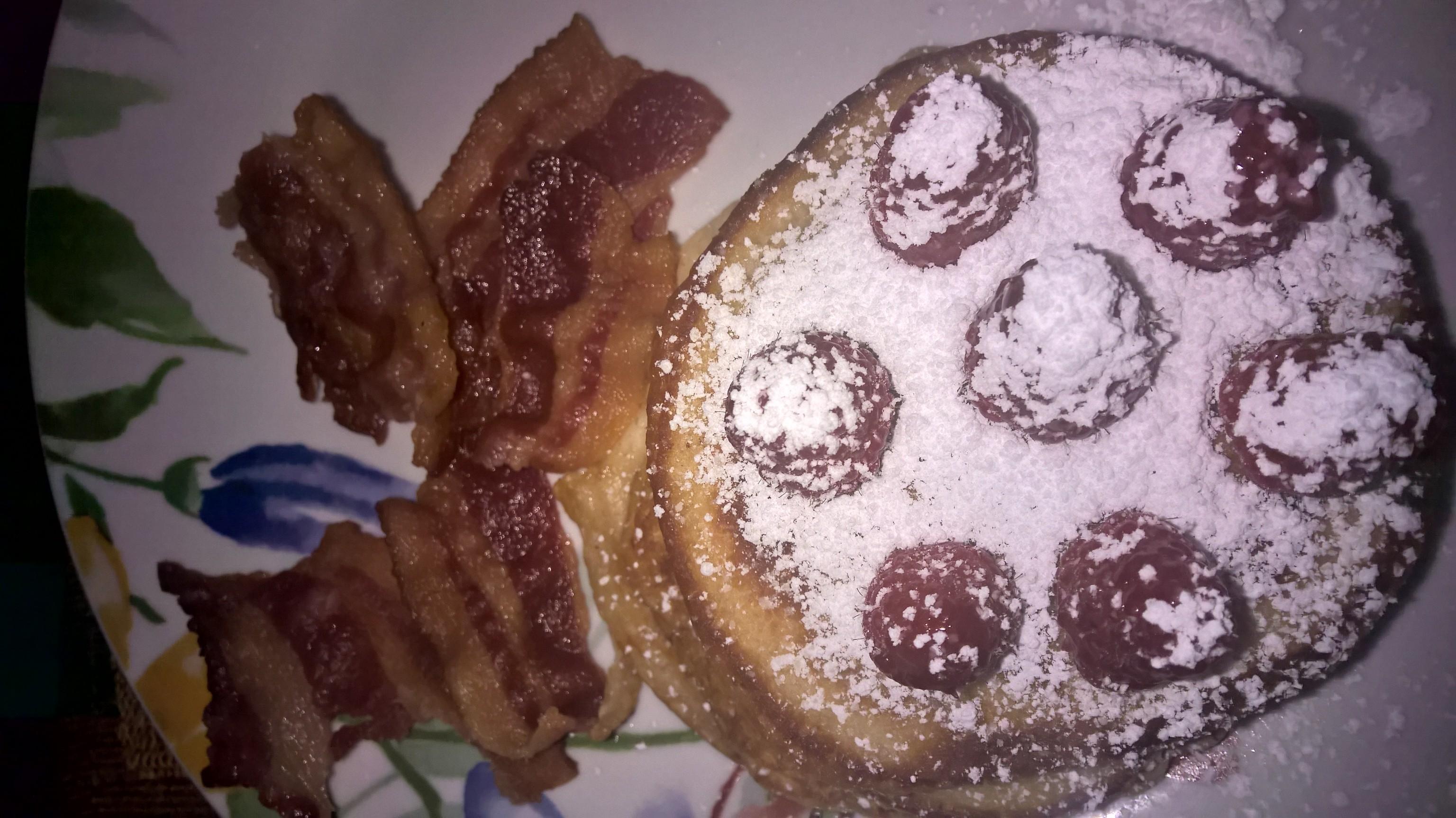Desayuno perfecto para mí....💜