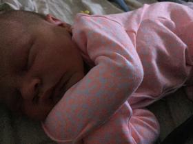 Newborn baby sis