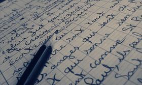 Écrire a en saigner