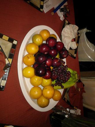 Home made fruit bowl