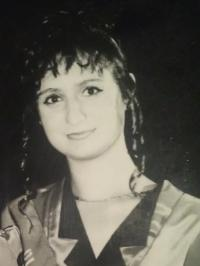My mom in the old days