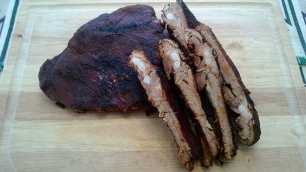 Barbecue Pork Ribs by Bob Thomson