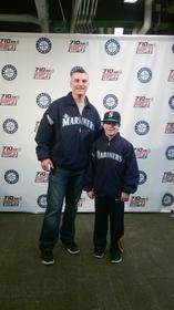 Me with Seattle Mariner Brendan Ryan