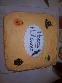 Halloween cake (2012)