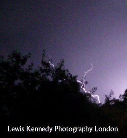 Lightning in London