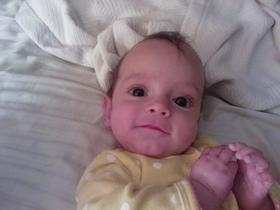 Cute little munchkin