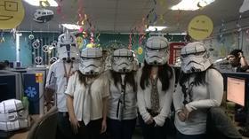 Storm trooper call center