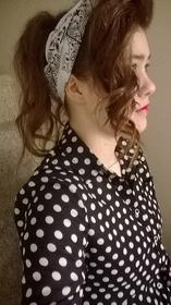 1950 Up Do Hairstyle