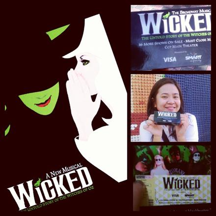 "My ""Wicked"" dream... :)"