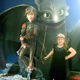 Went to see How to Train Your Dragon 2!