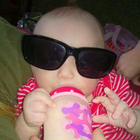 Allison in shades