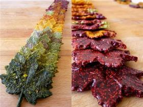 Fruit Leather Leaves