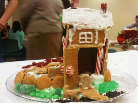 """""""Gingerbread"""" House competition"""