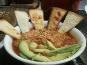 Semi homemade tortilla soup