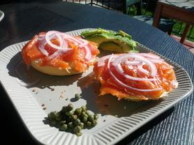 "Cold-Smoked Salmon ""Lox"""