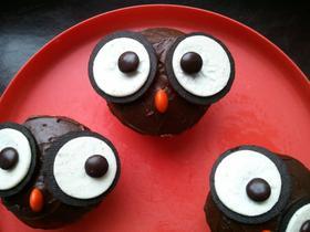 Kooky Owl Cupcakes